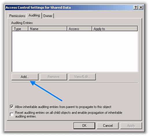 Audit For Deleted Files Advanced