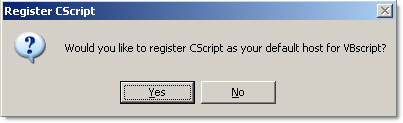 CScript Required