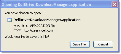 Dell Driver Download Failure