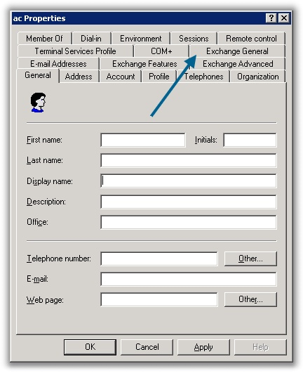Forward email in Exchange   Remote Administration For Windows