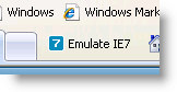 IE 8 Emulate IE 7
