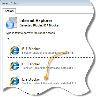 Block IE 9 Network Administrator