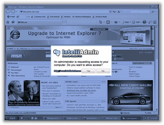 IntelliAdmin 3.0 Request Access