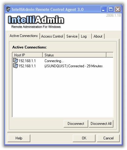 IntelliAdmin 3.0 Status