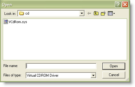 Map ISO Drive Driver Install