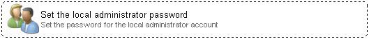 Network Administrator 3 Set Local Administrator