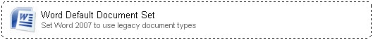 Network Administrator 3 Word Default Document Set