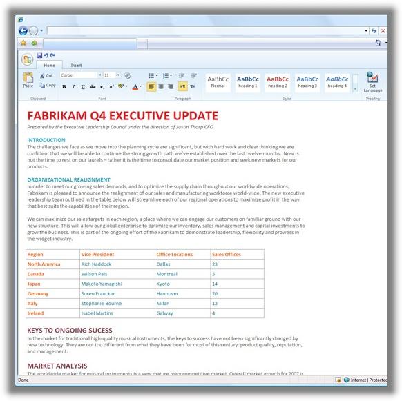 Office Web Based