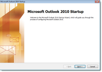 Outlook 2010 Setup