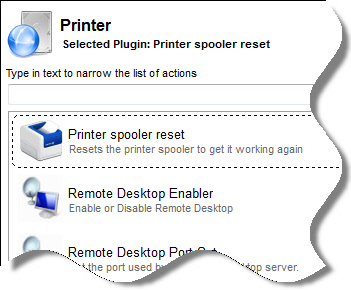 Reset Printer Remotely
