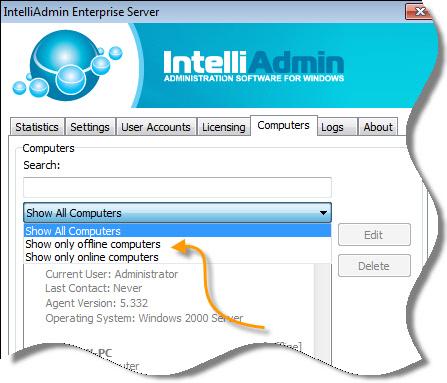 Reflector Computer Online Offline View