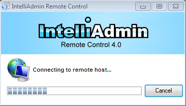 Remote Control Client Connect First Time