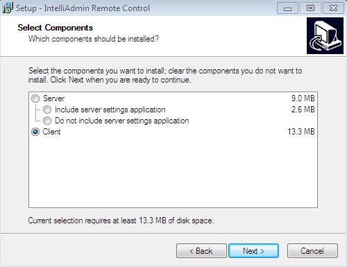Remote Control Client Setup File