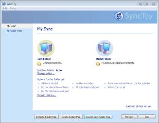 SyncToy Waiting