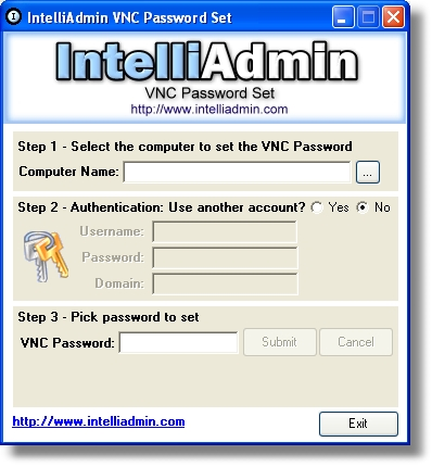 VNC Password Set