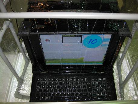 Waterproof laptop