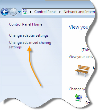 Windows 7 Admin Share Settings
