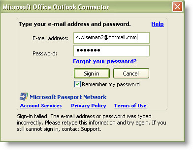 Receive Hotmail/Live mail in Outlook 2003 and 2007 ...