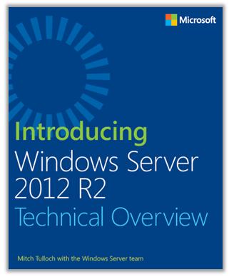 Windows Server 2012 R2 Cover