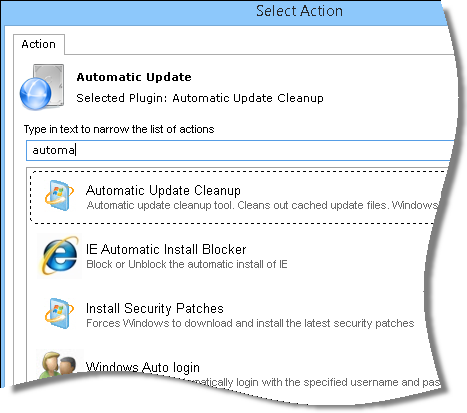 Automatic Update Network Administrator