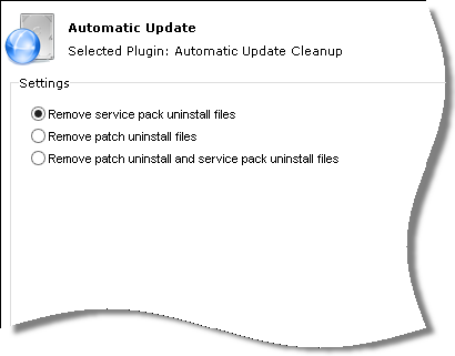 Automatic Update Cleanup Settings
