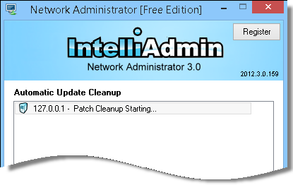Automatic Update Cleanup Status