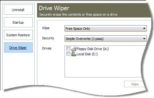 Drive Wiper