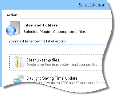 Clean temp files plugin