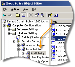 Logon Audit Policy