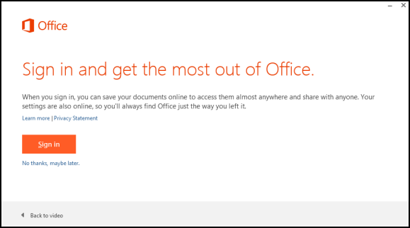 disable cloud features in office 2013 remote administration for windows
