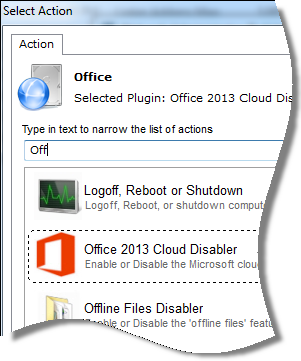 Network Administrator Disable 2013 Cloud Features
