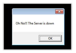 Server Down Oh No