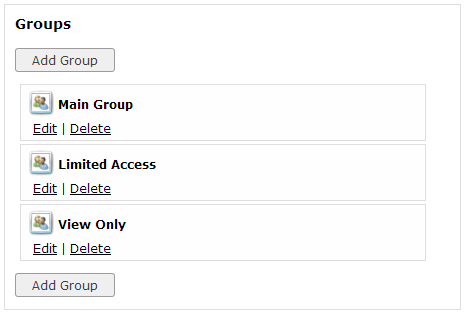 Enterprise Group Access