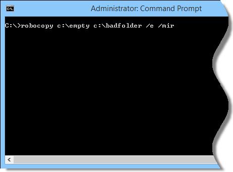 Mirror file command